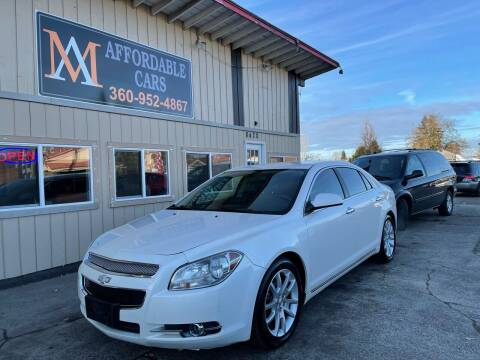 2011 Chevrolet Malibu for sale at M & A Affordable Cars in Vancouver WA