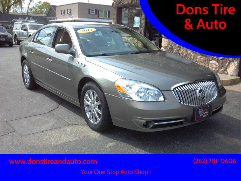 2011 Buick Lucerne for sale at Dons Tire & Auto in Butler WI