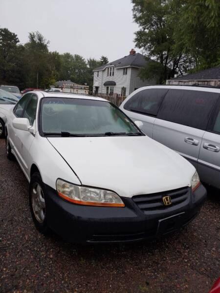 2000 Honda Accord for sale at South Metro Auto Brokers in Rosemount MN