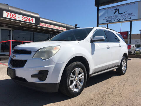 2011 Chevrolet Equinox for sale at NORRIS AUTO SALES in Oklahoma City OK