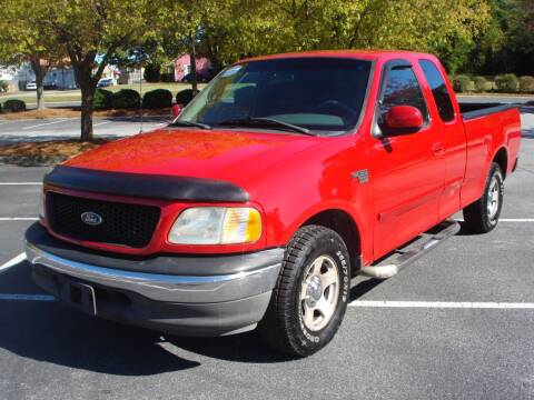 2002 Ford F-150 for sale at Uniworld Auto Sales LLC. in Greensboro NC