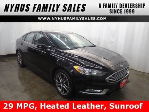 2017 Ford Fusion for sale at Nyhus Family Sales in Perham MN