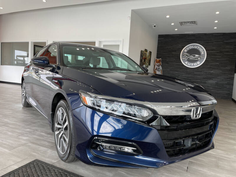 2019 Honda Accord Hybrid for sale at Evolution Autos in Whiteland IN