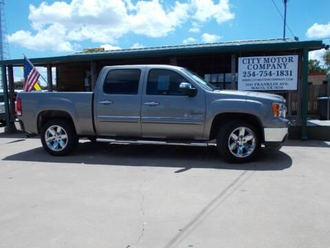 2013 GMC Sierra 1500 for sale at CITY MOTOR COMPANY in Waco TX