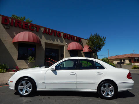 2003 Mercedes-Benz E-Class for sale at Direct Auto Outlet LLC in Fair Oaks CA