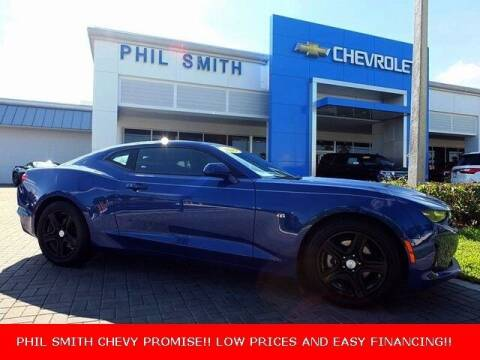2019 Chevrolet Camaro for sale at PHIL SMITH AUTOMOTIVE GROUP - Manager's Specials in Lighthouse Point FL