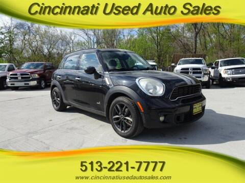2011 MINI Cooper Countryman for sale at Cincinnati Used Auto Sales in Cincinnati OH
