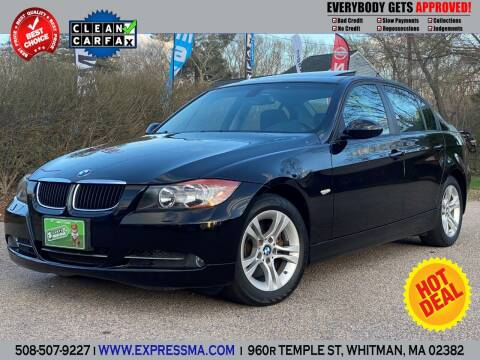 2008 BMW 3 Series for sale at Auto Sales Express in Whitman MA