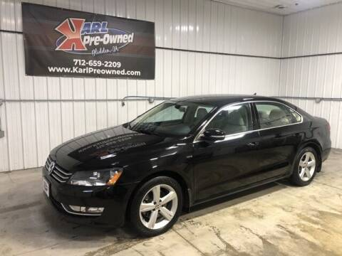 2015 Volkswagen Passat for sale at Karl Pre-Owned in Glidden IA