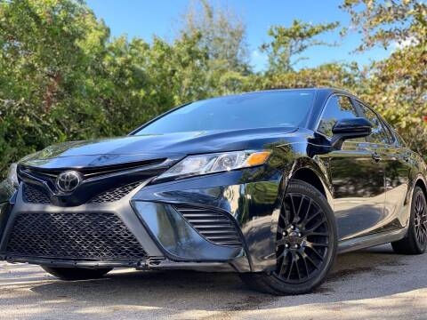 2019 Toyota Camry for sale at HIGH PERFORMANCE MOTORS in Hollywood FL