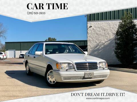 1995 Mercedes-Benz S-Class for sale at Car Time in Philadelphia PA