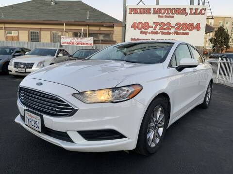 2017 Ford Fusion for sale at Ronnie Motors LLC in San Jose CA