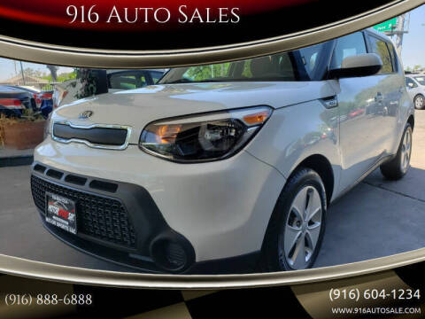 2016 Kia Soul for sale at 916 Auto Sales in Sacramento CA