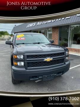 2014 Chevrolet Silverado 1500 for sale at Jones Automotive Group in Jacksonville NC