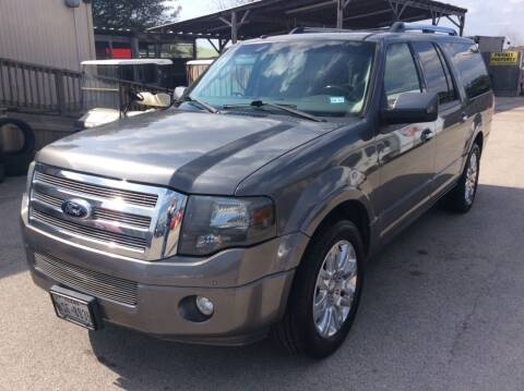 2013 Ford Expedition EL for sale at OASIS PARK & SELL in Spring TX