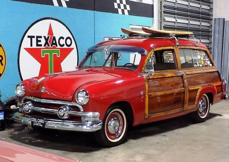 1951 Ford COUNTRY SQUIRE for sale at COOL CARS in Pompano Beach FL