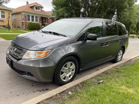 2012 Honda Odyssey for sale at Apollo Motors INC in Chicago IL
