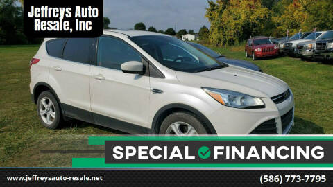 2014 Ford Escape for sale at Jeffreys Auto Resale, Inc in Clinton Township MI