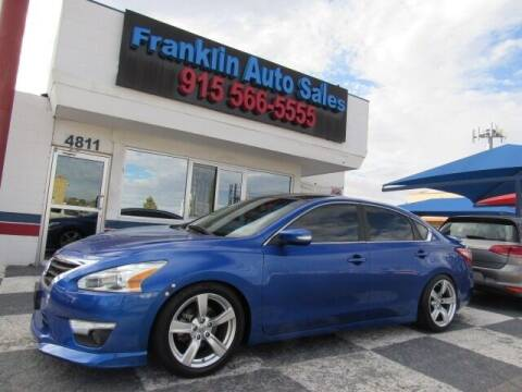 2013 Nissan Altima for sale at Franklin Auto Sales in El Paso TX