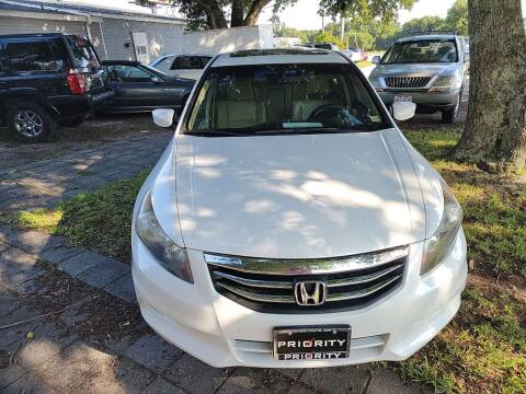 2012 Honda Accord for sale at Wally's Cars ,LLC. in Morehead City NC