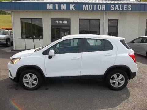 2017 Chevrolet Trax for sale at MINK MOTOR SALES INC in Galax VA