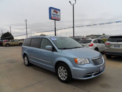 2013 Chrysler Town and Country for sale at America Auto Inc in South Sioux City NE