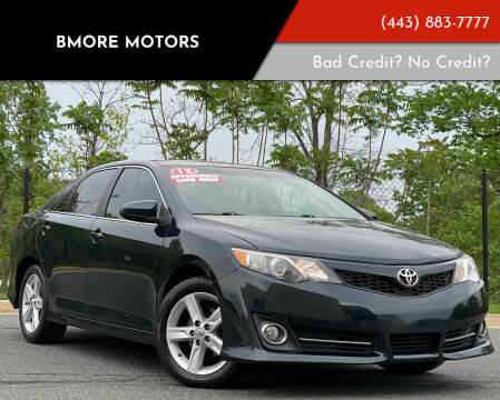 2012 Toyota Camry for sale at Bmore Motors in Baltimore MD