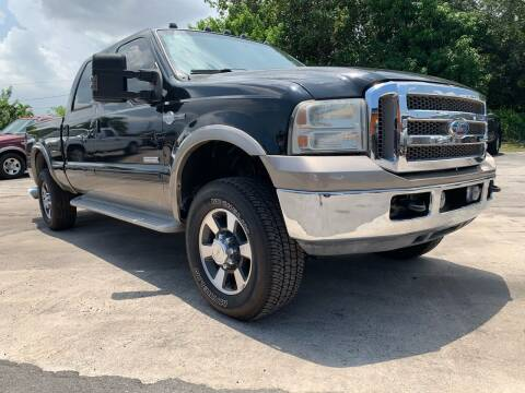 2006 Ford F-250 Super Duty for sale at Truck Depot in Miami FL
