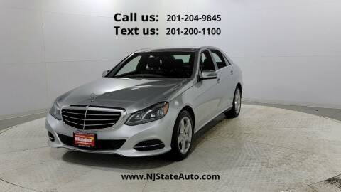 2014 Mercedes-Benz E-Class for sale at NJ State Auto Used Cars in Jersey City NJ