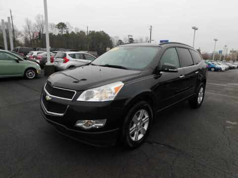 2012 Chevrolet Traverse for sale at Paniagua Auto Mall in Dalton GA