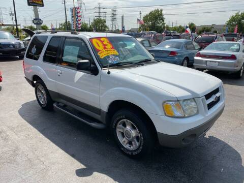 2003 Ford Explorer Sport for sale at Texas 1 Auto Finance in Kemah TX