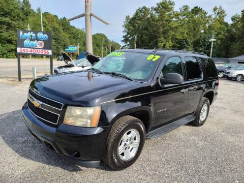 2007 Chevrolet Tahoe for sale at Let's Go Auto in Florence SC