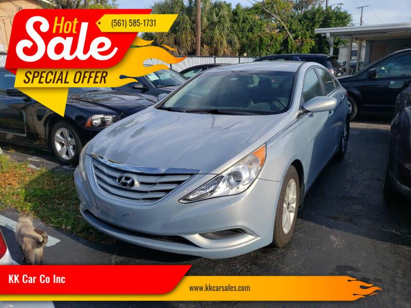 2012 Hyundai Sonata for sale at KK Car Co Inc in Lake Worth FL