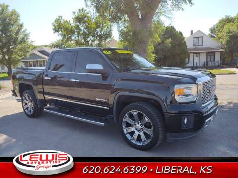 2015 GMC Sierra 1500 for sale at Lewis Chevrolet Buick of Liberal in Liberal KS