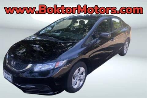 2015 Honda Civic for sale at Boktor Motors in North Hollywood CA