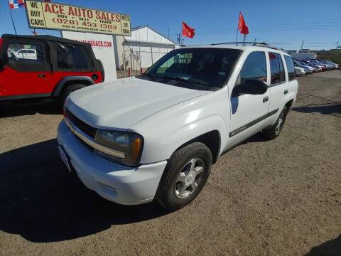 2004 Chevrolet TrailBlazer for sale at ACE AUTO SALES in Lake Havasu City AZ