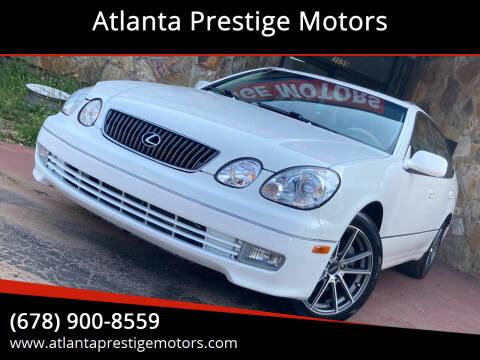 2004 Lexus GS 300 for sale at Atlanta Prestige Motors in Decatur GA