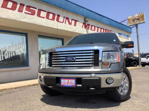 2011 Ford F-150 for sale at Discount Motors in Pueblo CO