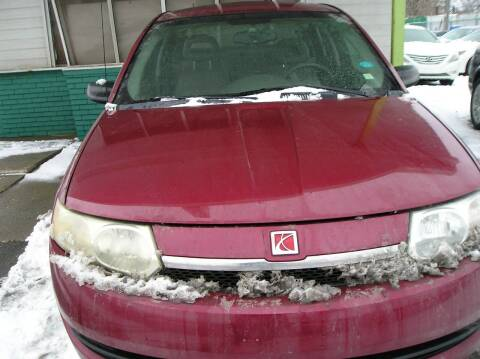 2004 Saturn Ion for sale at ZJ's Custom Auto Inc. in Roseville MI