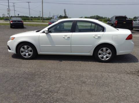 2009 Kia Optima for sale at Kevin's Motor Sales in Montpelier OH