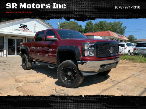 2015 Chevrolet Silverado 1500 for sale at SR Motors Inc in Gainesville GA