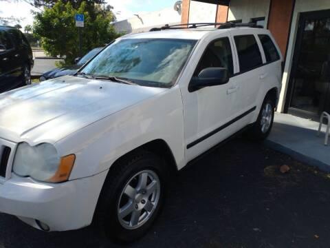 2008 Jeep Grand Cherokee for sale at LAND & SEA BROKERS INC in Deerfield FL