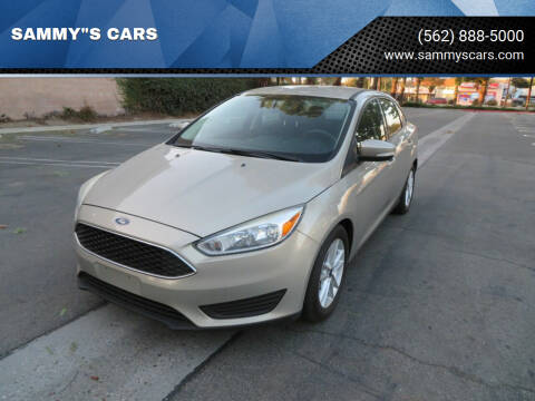 "2016 Ford Focus for sale at SAMMY""S CARS in Bellflower CA"