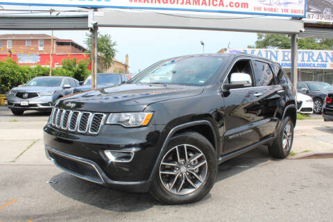 2020 Jeep Grand Cherokee for sale at MIKEY AUTO INC in Hollis NY