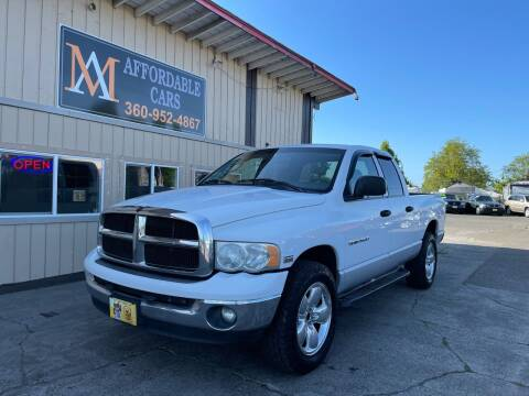 2003 Dodge Ram Pickup 1500 for sale at M & A Affordable Cars in Vancouver WA