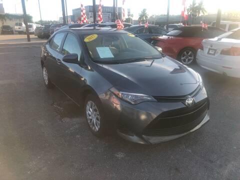 2017 Toyota Corolla for sale at MACHADO AUTO SALES in Miami FL