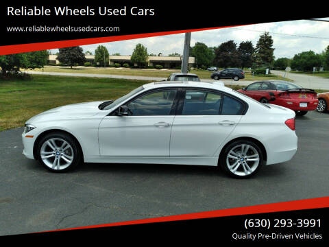 2014 BMW 3 Series for sale at Reliable Wheels Used Cars in West Chicago IL