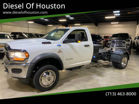2020 RAM Ram Chassis 5500 for sale at Diesel Of Houston in Houston TX