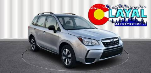 2018 Subaru Forester for sale at Layal Automotive in Englewood CO