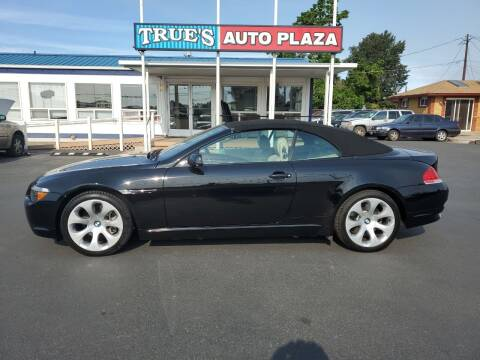 2006 BMW 6 Series for sale at True's Auto Plaza in Union Gap WA